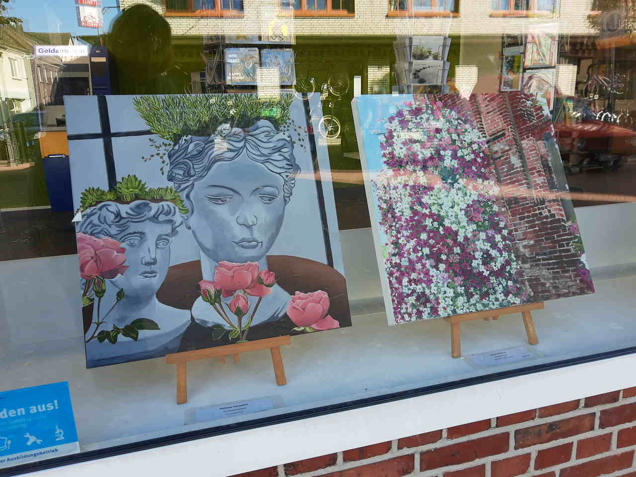 """Ausstellung in Neukirchen """"LaGa 60 x 60"""