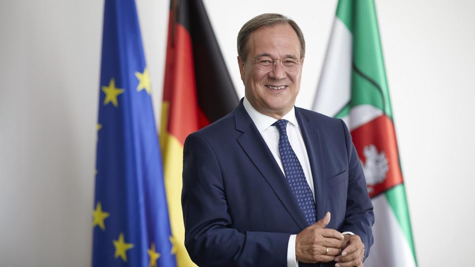 Ministerpräsident Armin Laschet gratuliert neuem US-Präsidenten Joseph Biden zur Amtseinführung