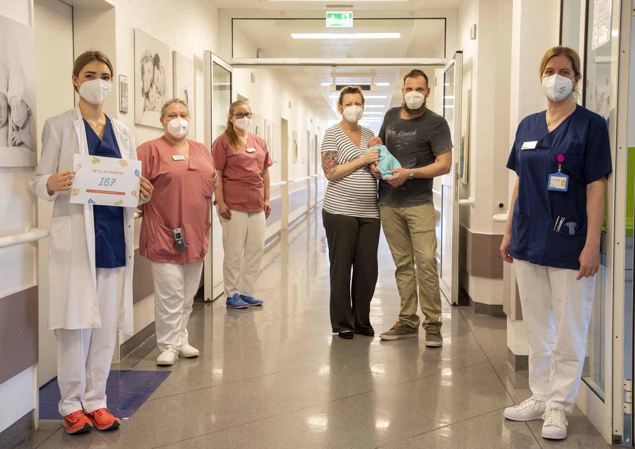 167 Kinder kamen im März 2021 in der Geburtsklinik im Krankenhaus Bethanien zur Welt