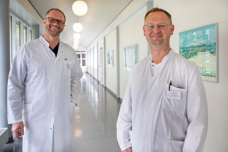 Erfolgreiche Not-OP unter örtlicher Betäubung im Krankenhaus Bethanien Moers durch speziell ausgebildetes Ärzte- und Pflegeteam