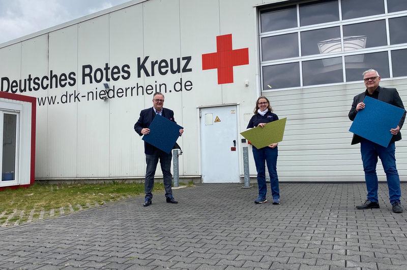 Unterstützt das Engagement des Deutschen Roten Kreuzes: