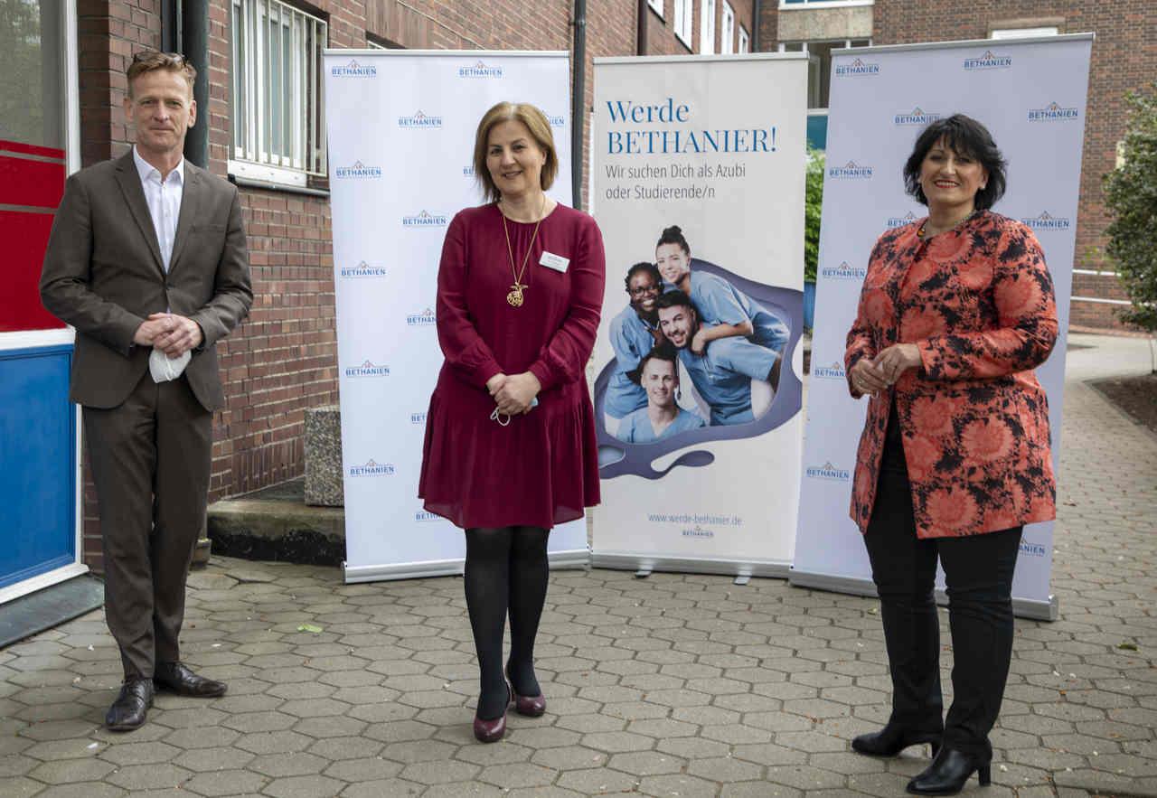 Bethanien baut: Schule für rund 400 Auszubildende soll Ende 2023 fertig sein