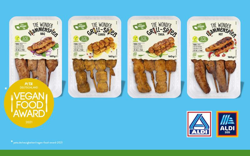 Bestes veganes Grillprodukt: ALDI gewinnt erneut den Vegan Food Award