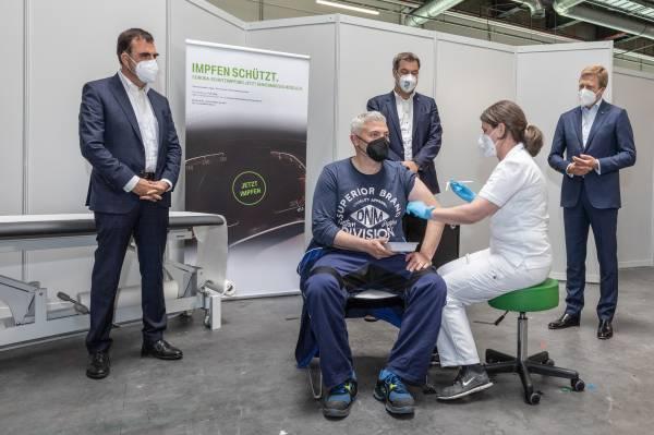 BMW Group startet betriebsinternes Impfen an ihren großen deutschen Standorten