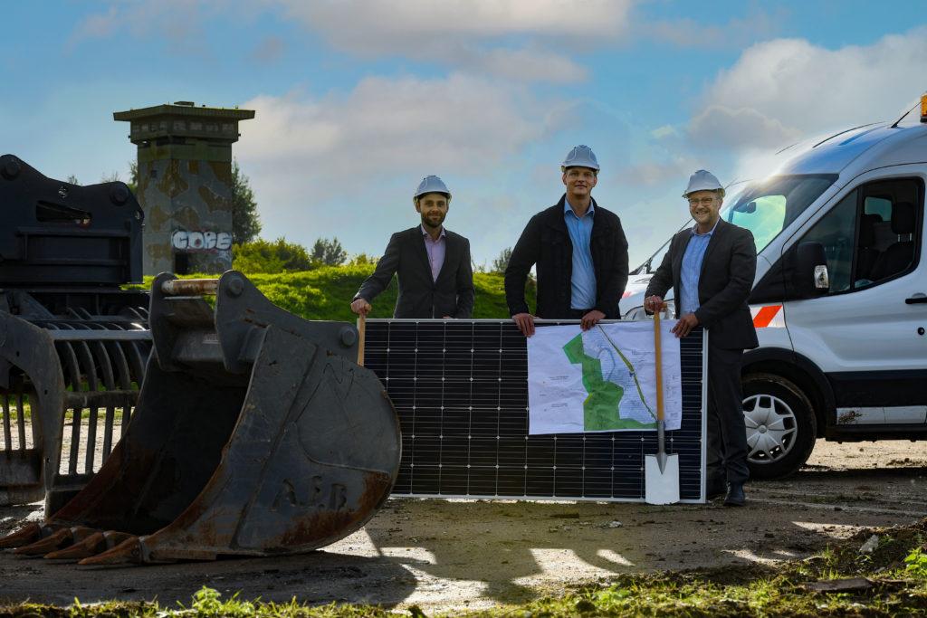 Grünes Licht für Energiewendeprojekt Enni startet am alten NIKE-Standort den Bau eines Solarparks in Xanten